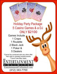 Holiday Party Package 2019