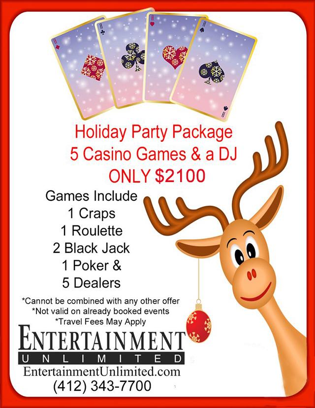Holiday Casino Specials